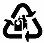 Glass Recycling Symbol